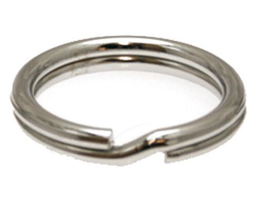 10 Pièces Spécial Clé Anneaux 33 mm x 3,0 mm extra fort Clé Anneau Key Ring