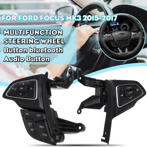 For-Ford-Focus-MK3-Cruise-Control-Switch-bluetooth-Audio-Steering-Wheel-Button