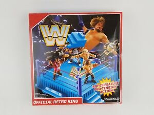 WWE Mattel Official Retro Wrestling Ring