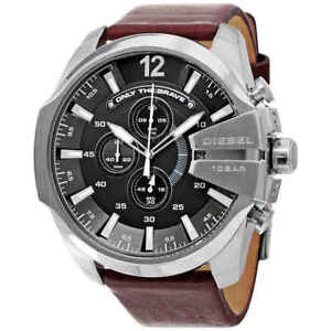 474332dcd Image is loading Diesel-Mega-Chief-Chronograph-Grey-Dial-Men-039-
