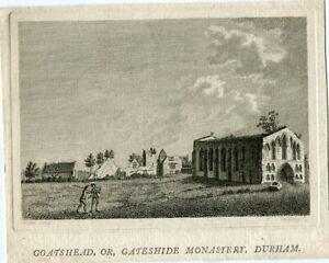 Goatshead-Or-Gateshide-Monastery-Durham-Engraving-By-Geoffrey-IN-1774