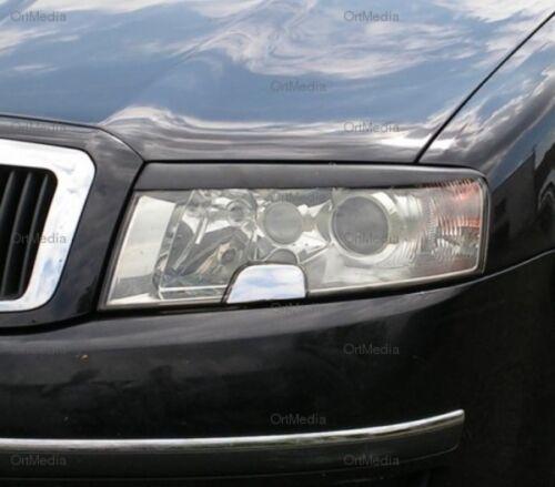 Scheinwerferblenden für Skoda Superb I 2001-08 Böser Blick Blenden-Tuning Palace