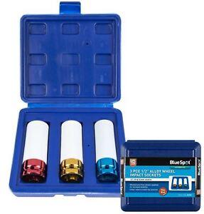 BlueSpot-Alloy-Wheel-Nut-Impact-Socket-Set-1-2-034-Drive-17-19-amp-21mm-Deep-Sockets