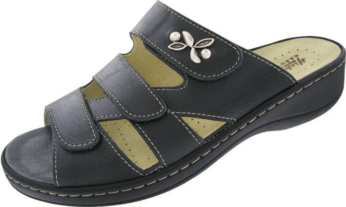 Hickersberger Sandali da Donna Nero Pelle vario 5110 9090 G-larghezza
