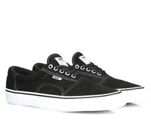 28e18f0126 Vans Rowley Solos Black White Pewter UltraCush Skate Shoes Mens Size ...