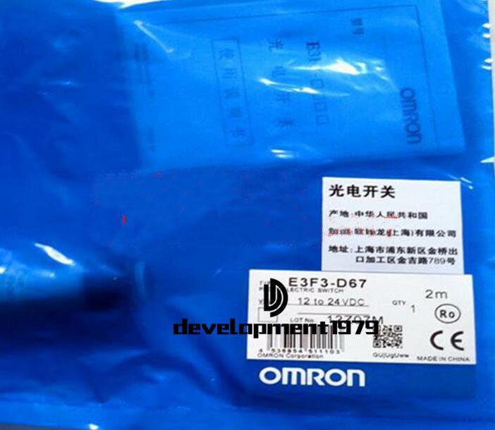 Un Interruptor Fotoeléctrico Omron E3F3-D67 E3F3D67 Nuevo Nuevo Nuevo e2a6d4