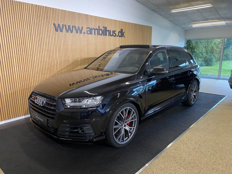 Audi SQ7 4,0 TDi quattro Tiptr. 7prs 5d - 1.199.900 kr.