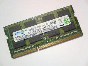 4gb Ddr3 1600 Pc3 12800 1600mhz Samsung M471b5273dh0 Ck0 Laptop Ram