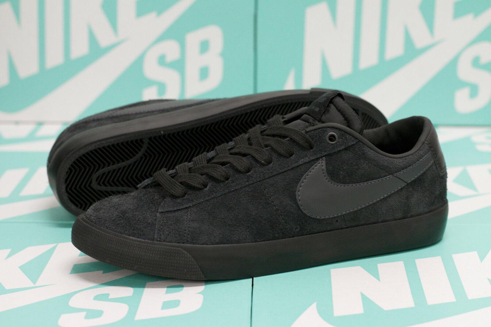 Nike sb grant taylor blazer basso - nero / antracite - 704939 002 sz 10