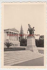 (f7351) Orig. Photo Vienne, Mairie, Lot 1940-afficher Le Titre D'origine