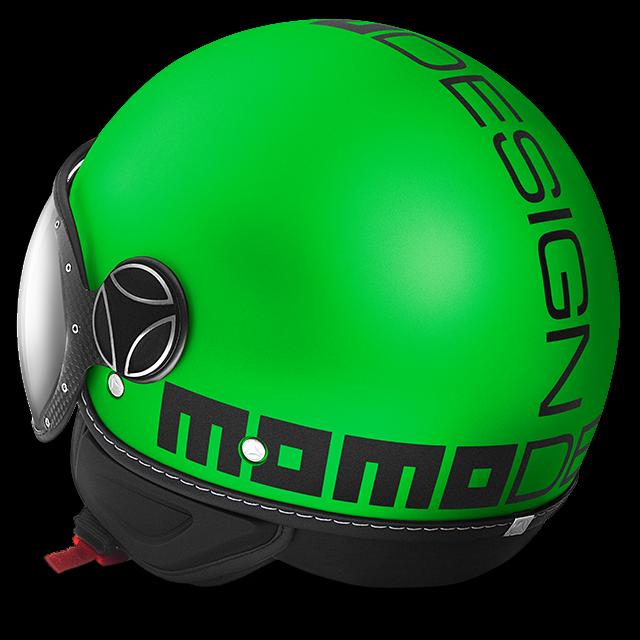 Casco Momo Design misura M verde Fluo