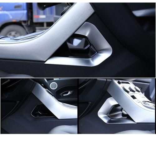 Car Center Console Side Protect U Frame Trim For Range Rover Evoque 2015-2018