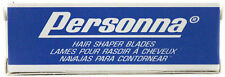 PERSONNA STAINLESS STEEL HAIR SHAPER BLADES 5-COUNT