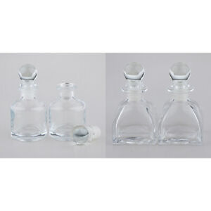 Details about 4x Fragrance Glass Bottle for DIY Oils Replacement Reed  Diffuser Stick 50ml