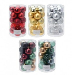 20-bolas-para-arbol-de-Navidad-Adorno-MATE-PLASTICO
