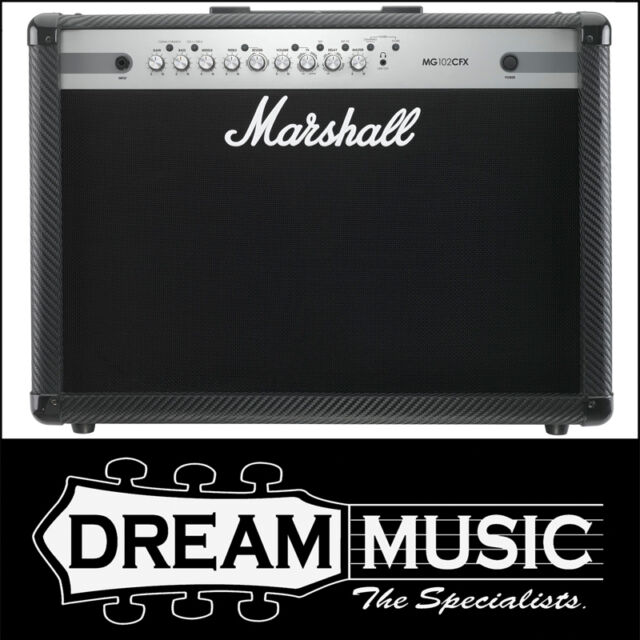 "Marshall MG102CFX 100w 2x12"" Electric Guitar Amplifier Combo w/ Effects RRP$949"