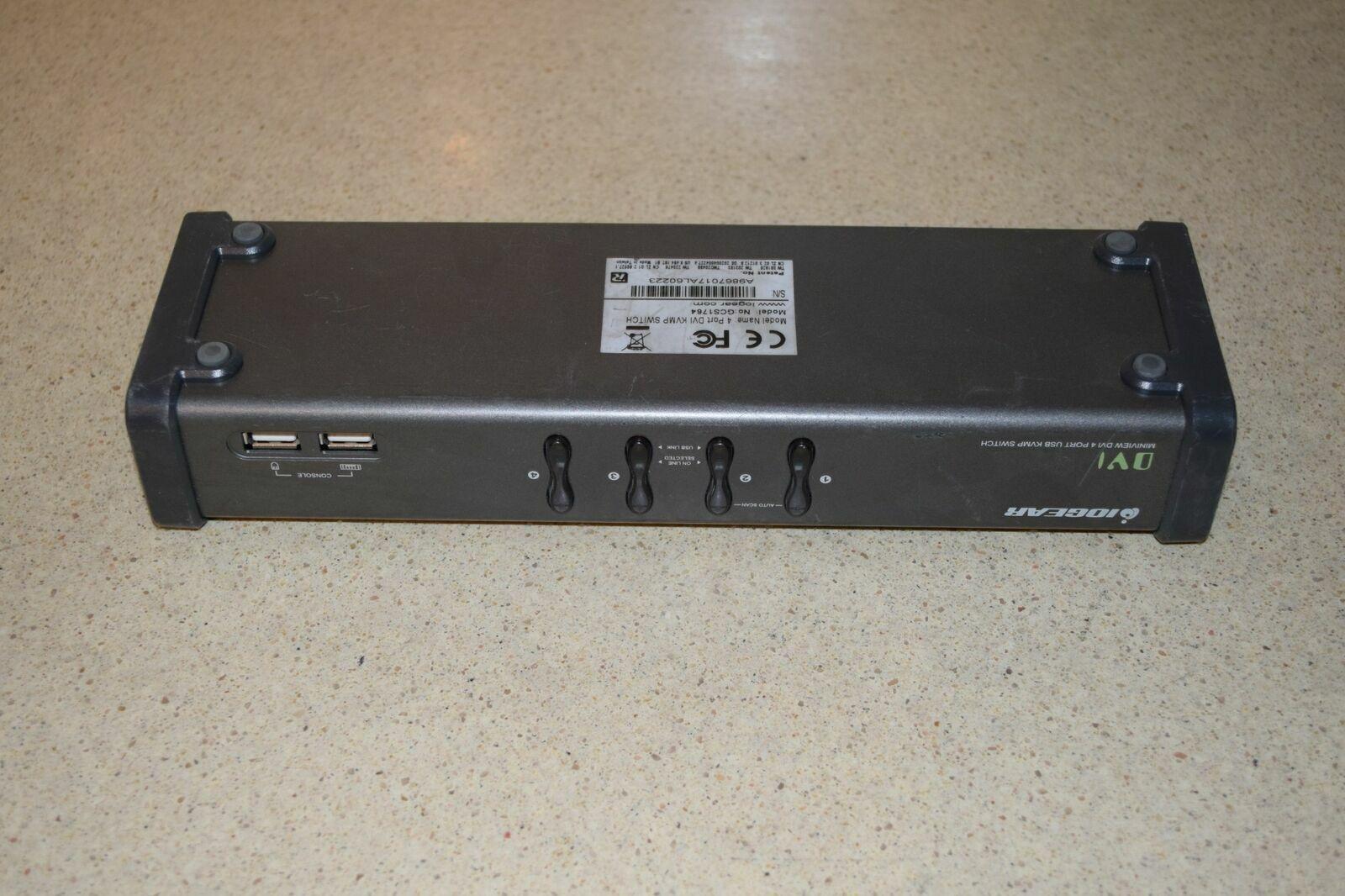 iOGEAR DVI MINIVIEW DVI 4 PORT USB KVMP SWITCH (C1)