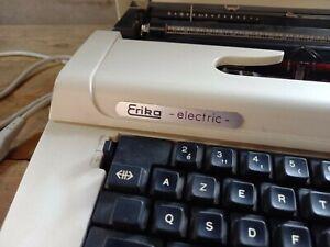 Vintage, machine à écrire occasion Erika électric ROBOTRON TYP S2020