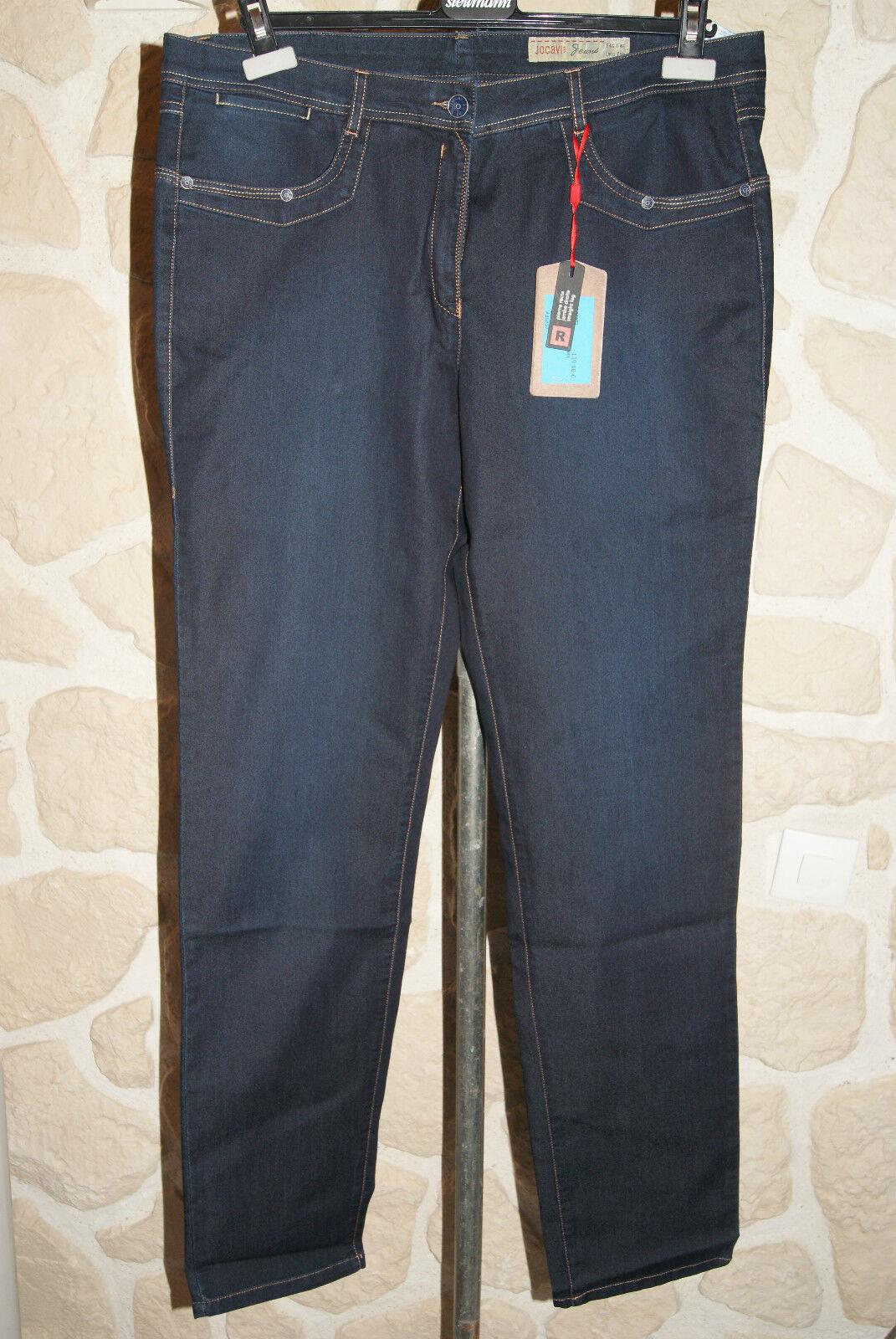 Jeans bleu neuf taille 42 marque JOCAVI  étiqueté à