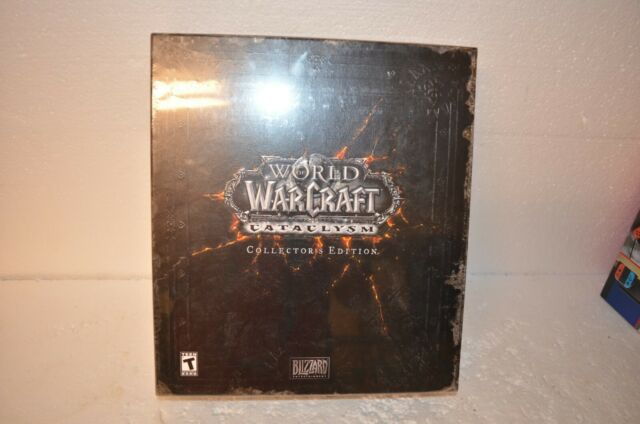 New World of Warcraft Cataclysm Collectors Edition SEALED