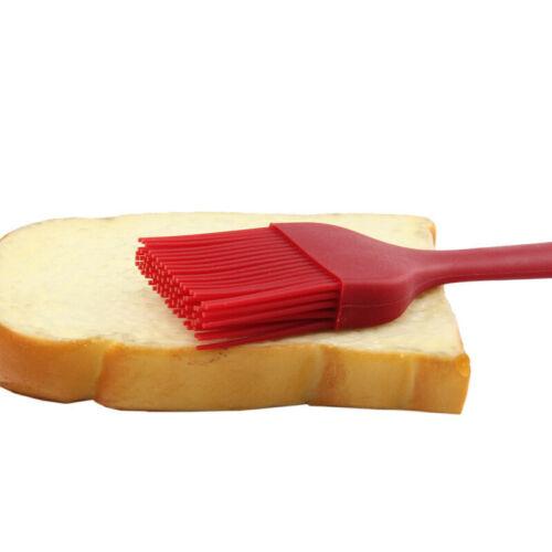 Premium 2//5 PCS SET Silicone Basting Pastry Bread Barbecue oil Brush BBQ Kitchen