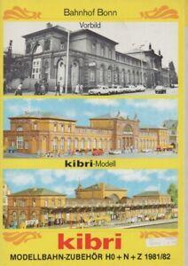 Sammlerstück Ho+n+z 1981-82 Humor Kibri Modellbahn-zubehör