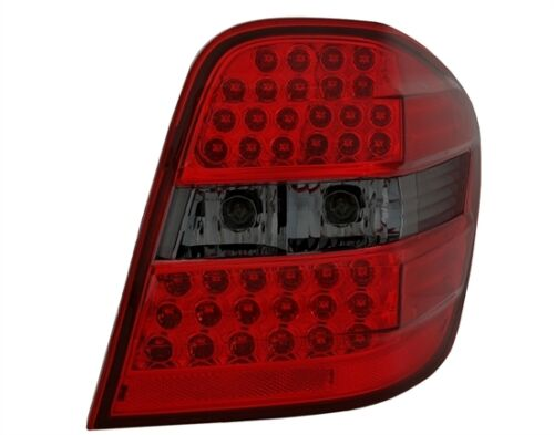 SMOKED LED REAR LIGHTS FOR MERCEDES ML W164 MODEL 07//2005-07//2008