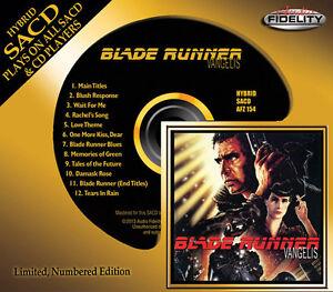 VANGELIS-BLADE-RUNNER-HYBRID-SACD-Audio-Fidelity-2013-NEW