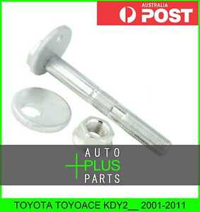 Fits-TOYOTA-TOYOACE-KDY2-2001-2011-Cam-Camber-Adjustment-Bolt-Plate-Kit