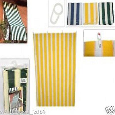 Inteligente Tenda Da Sole In Tessuto Resistente Con Anelli 3 Colori A Scelta 140x240 Casa