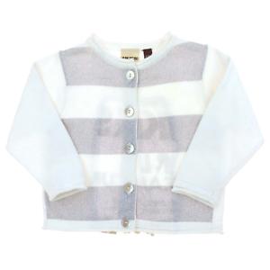 Bébé Filles Cardigan blanc rose à manches longues 0-3 3-6 6-9 mois NEUF