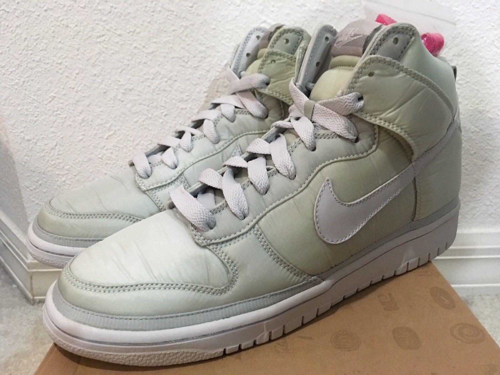 Nike Dunk Neutral Hi Vandal Premium Nylon Neutral Dunk Grey Men Sz 9.5 346113-002 da023a