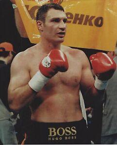 VITALI KLITSCHKO 8X10 PHOTO BOXING PICTURE VICTORY