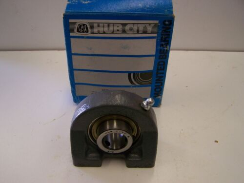 "Hub City TPB250X3//4 Tapped Base Pillow Block Bearing 3//4/"" Bore New"