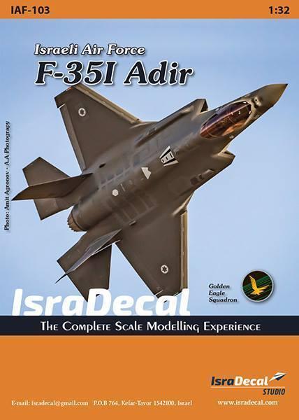 IsraDecal 1 32  IAF F-35I Adir  Israeli Air Force