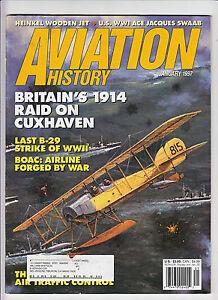 AVIATION-HISTORY-JAN-1997-BRIT-WWI-1914-CUXHAVEN-RAID-LAST-B-29-SRIKE-WWII-BOAC
