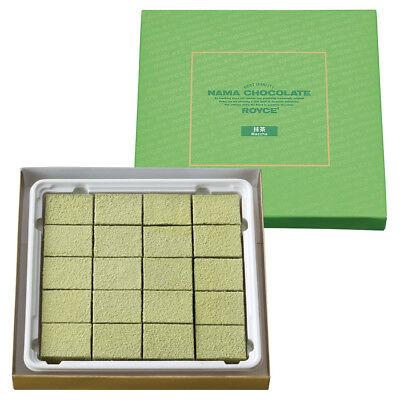 "Royce' original Nama Chocolate Limited ""Maccha"" Made in HOKKAIDO Free Shipping"
