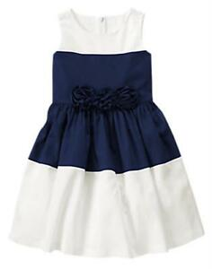 68-OFF-AUTH-GYMBOREE-COLORBLOCK-ROSETTE-DRESS-SIZE-5-4-6-YRS-BNEW-28-99