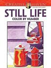 Creative Haven Still Life Color by Number Coloring Book by Diego Pereira (Paperback, 2016)