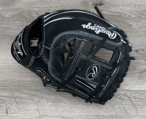 "Rawlings Custom Heart Of The Hide Glove PRO204DM-2 Black Hyper Shell RHT 11.5"""