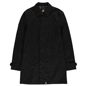 Mens-Pretty-Green-Mac-Trench-Coat-Cotton-New