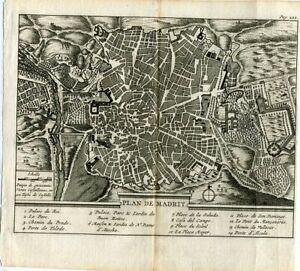 Flach-Kartographische-De-Madrid-bei-Pieter-Van-der-Aa