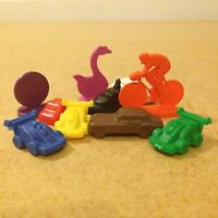 Mixed Game Counters / Pieces - Plastic Vehicles / Transport - Pack of 10 (D097)