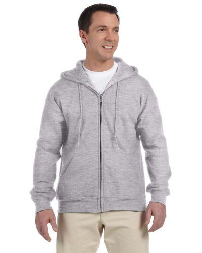 DryBlend 50//50 Full-Zip Hood 2 Pack G126 All Sizes Gildan Mens 9.3 oz