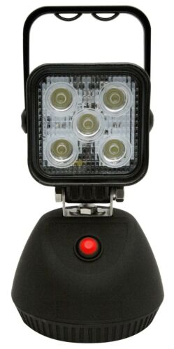 New Ecco LED Work//Camping light 650 Lumen Magnetic Base Rechargeable Lithium
