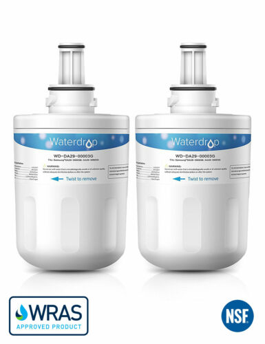2 Eau Interne Réfrigérateur Filtre Pour DA99-0213B Samsung Aqua Pure Plus HAFIN 2