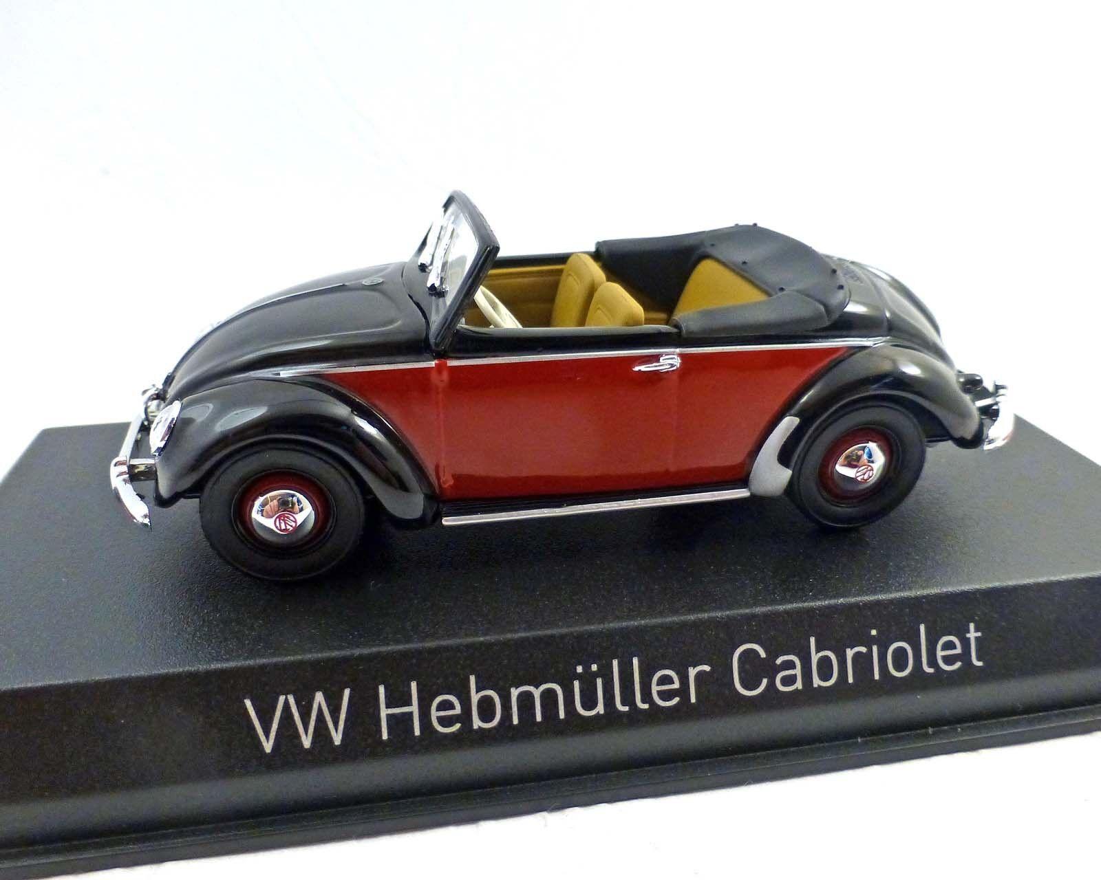 VW HEBMÜLLER CABRIOLET 1949, Norev 1 43