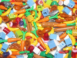 Lego-Accessoire-Minifig-Lot-x5-Fruit-Legume-Nourriture-Foods-Choose-Model