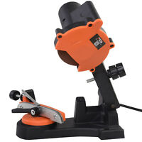 Electric Chainsaw Chain Saw Sharpener Grinder 4200rpm Wall Mount Tool on Sale