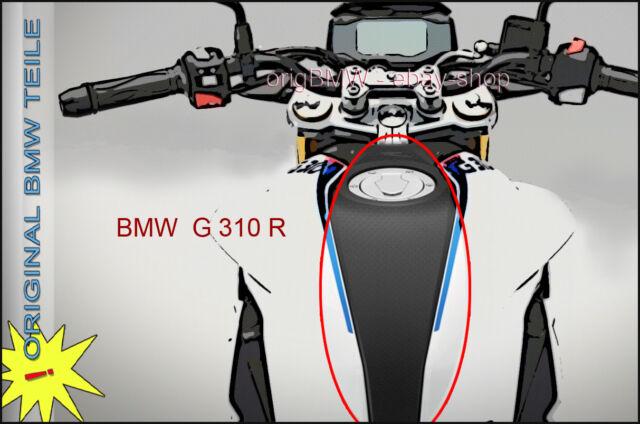 BMW G 310 R Tankabdeckung mitte 85565775 • tank-cover middle - fine grain NEW